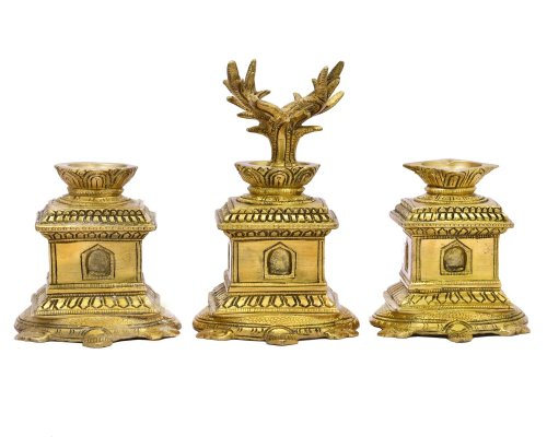 Incense Diya Stand Set