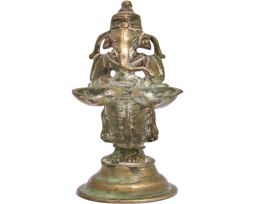 Ganesha Aarti Antique Finish