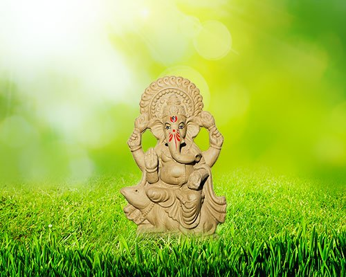 8 inch - Devavrata Eco-friendly Ganpati | Plant my Ganesha