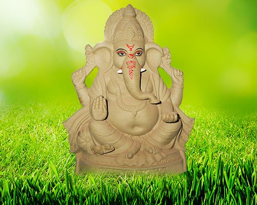"34 inch - Dagduseth ""Eco-friendly"" Ganesha 